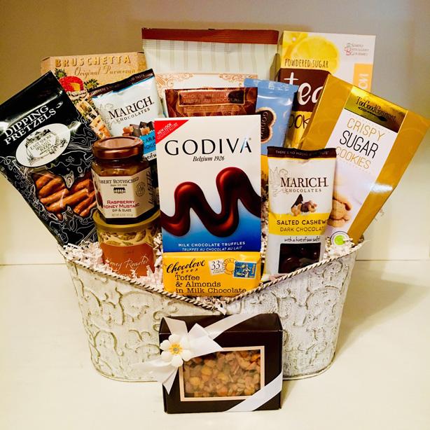 spring gift basket, gift basket allen texas, allen texas corporate gifts, business gifts,