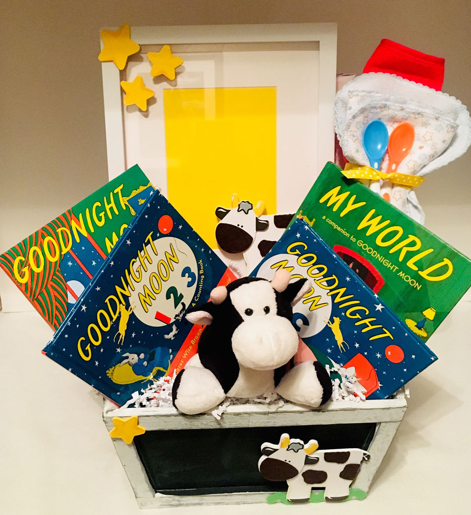 Goodnight Moon Gift Collection 80 00 Penny S Gift Baskets