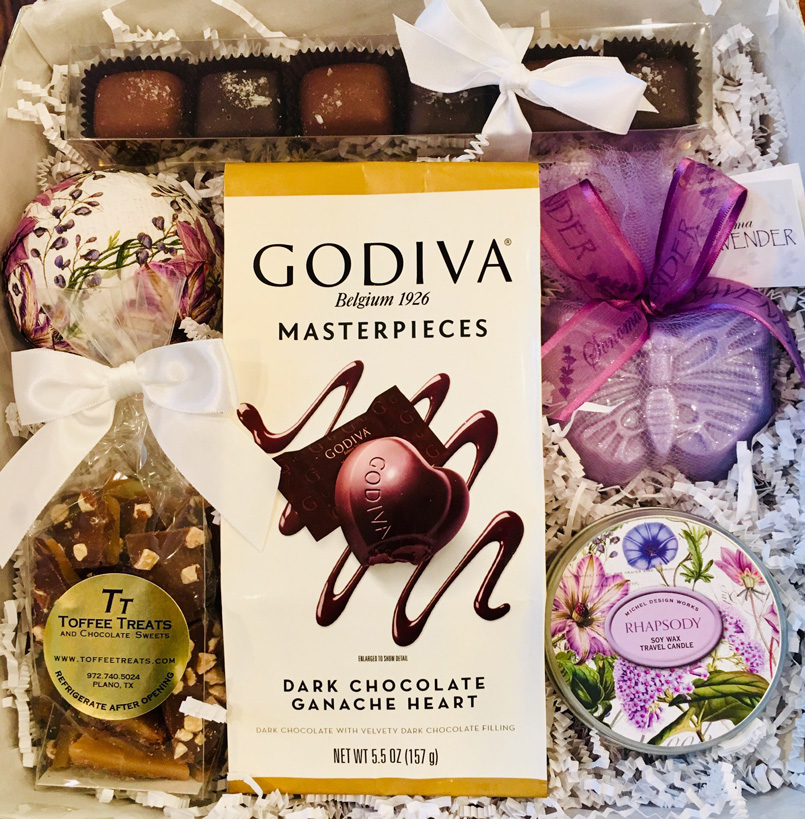 mothers day gift box, easy mothers day present, mothers day gift, couture gift, gourmet chocolates