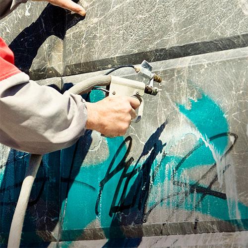 graffiti removal in Las Vegas NV