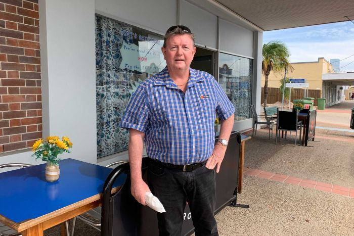 Bowen businessman Tony Doyle.