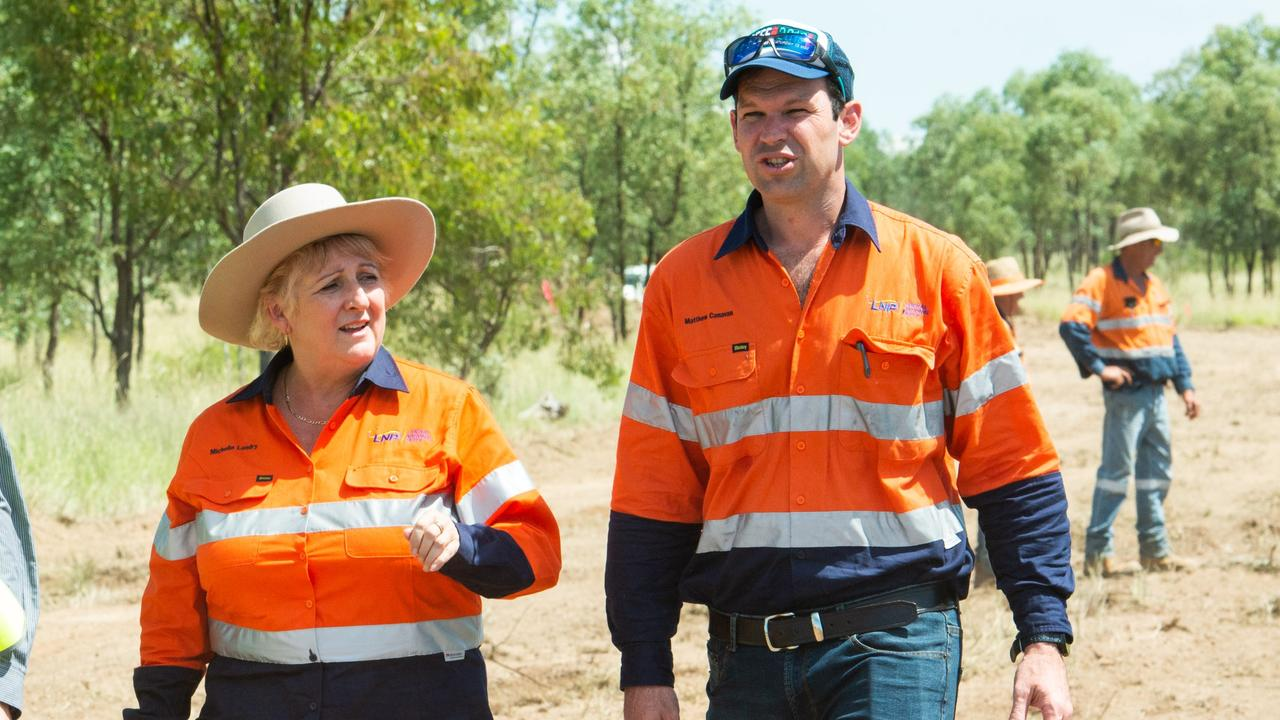 Resources Minister Matt Canavan, Capricornia MP Michelle Landry were instrumental is securing the project's initial $4 million study grant.