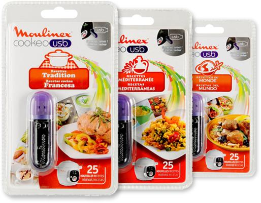 photo Clés USB recettes additionnelles pour Cookeo USB CE7021