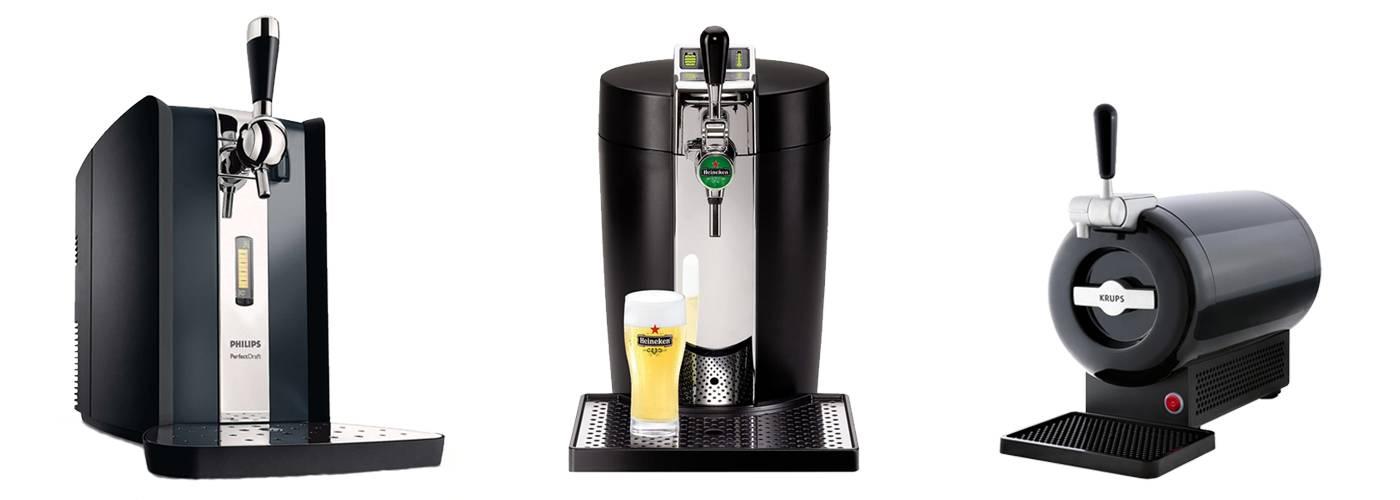 photo tireuse à bière PerfectDraft BeerTender et The Sub