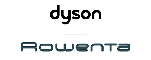logo Dyson Rowenta