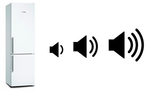 illustration nuisances sonores refrigerateur
