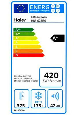 photo etiquette energie frigo americain