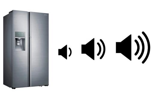 illustration nuisance sonore frigo americain