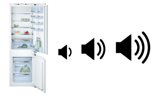 illustration nuisance sonore refrigerateur encastrable