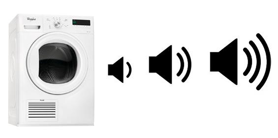 illustration bruit fonctionnement seche linge