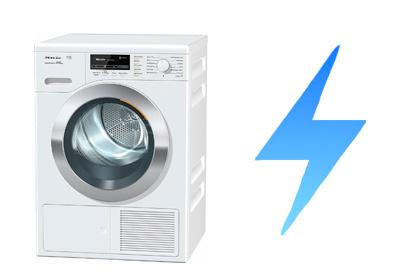 illustration consommation electrique seche linge