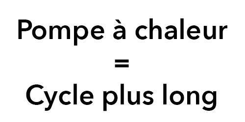 illustration cycle long pompe a chaleur
