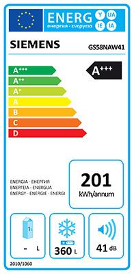 illustration classe energetique congelateur armoire