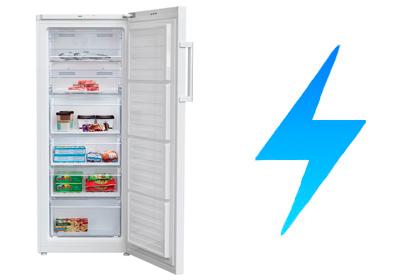 illustration consommation congelateur armoire