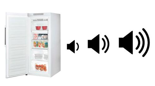 illustration nuisances sonores congelateur armoire