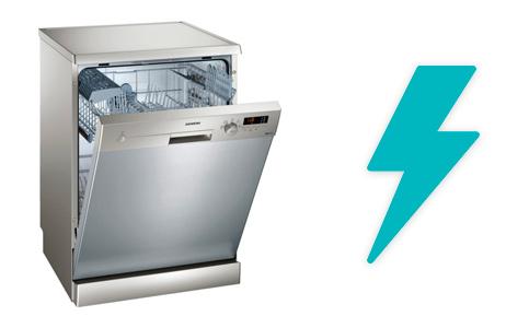illustration consommation electricité lave vaisselle