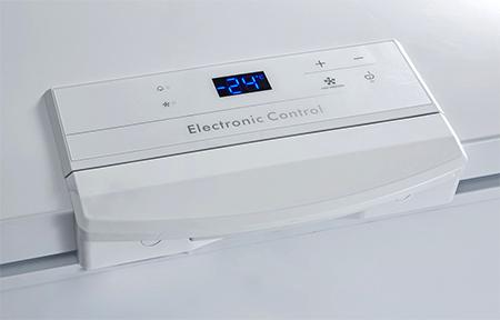 photo systeme de reglage temperature congelateur coffre
