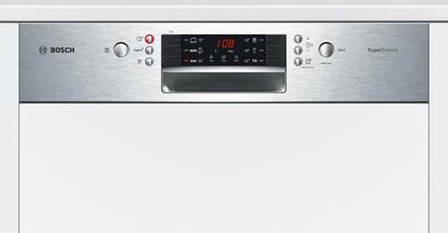 photo panneau commande lave vaisselle encastrable