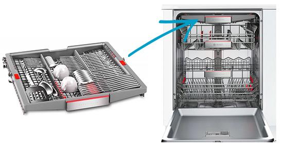 photo tiroir couvert lave vaisselle