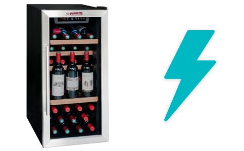 illustration consommation electrique cave a vin