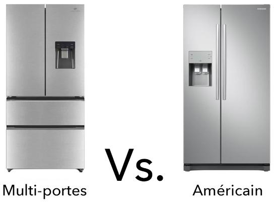 photo frigo multiportes vs americain