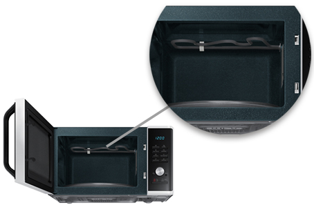 photo micro-onde grill