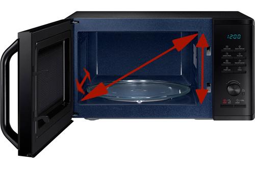 illustration contenance micro-onde