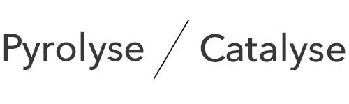 illustration pyrolyse vs catalyse