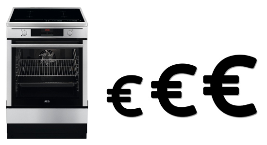 illustration budget cuisiniere induction