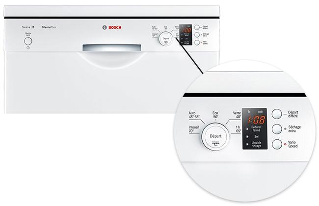 illustration programme lave vaisselle