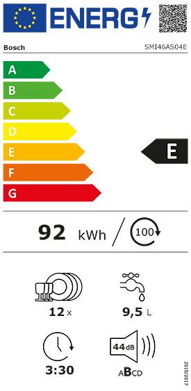 Etiquette Energie Siemens SN636X00AE