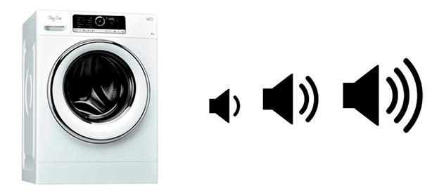 Illustration bruit machine a laver