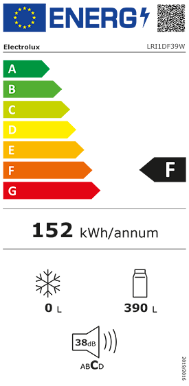 Etiquette Energie Electrolux LRI1DF39W