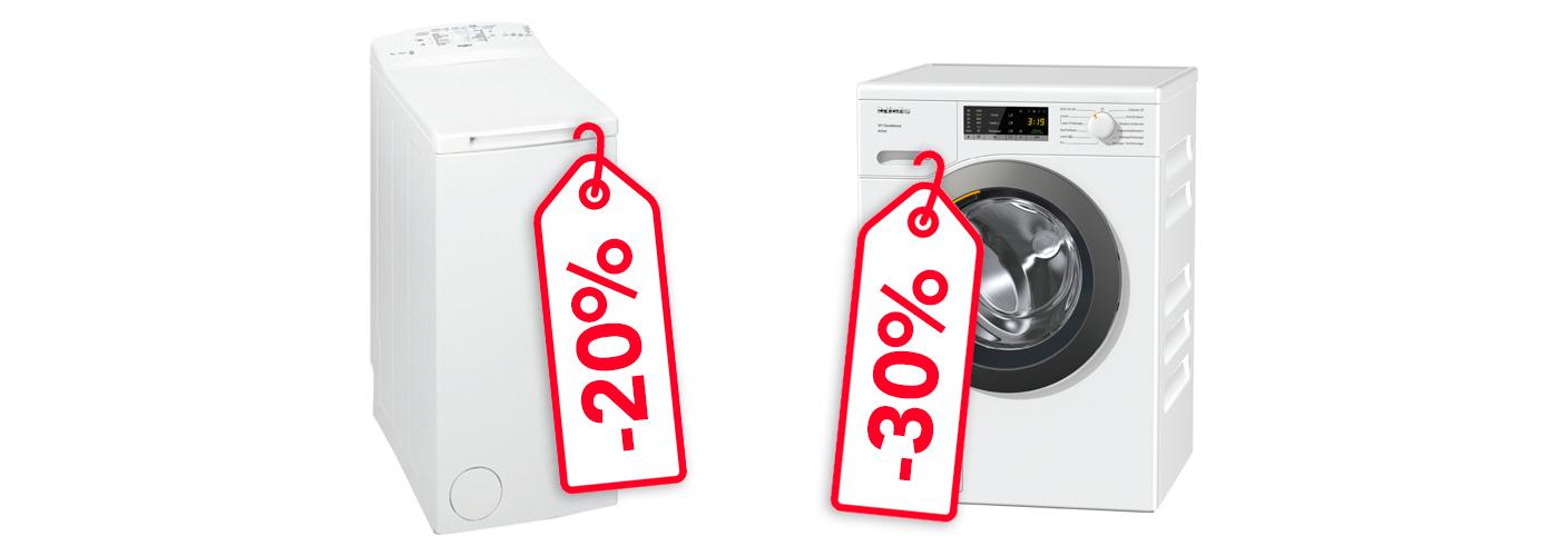 Illustration promos lave-linge
