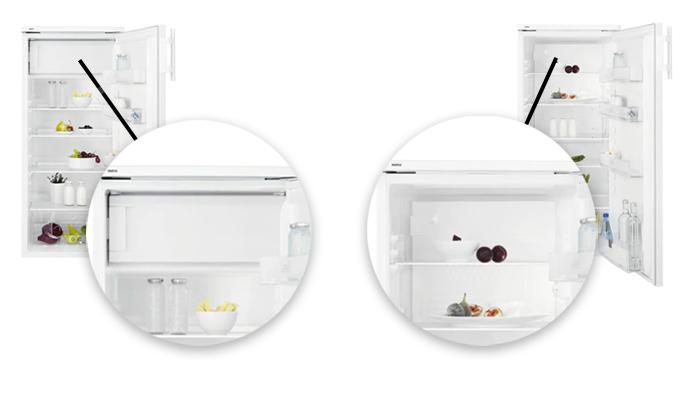 illustration compartiment congelateur refrigerateur 1 porte
