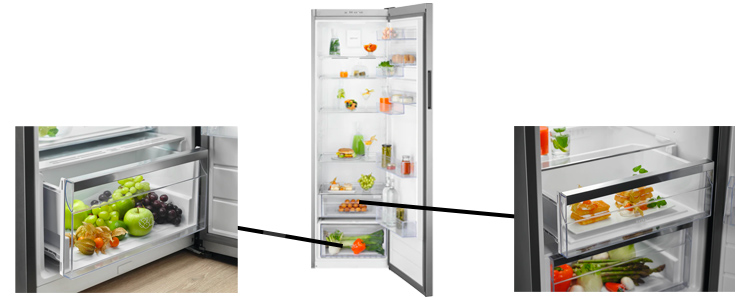 illustration volume refrigerateur 1 porte