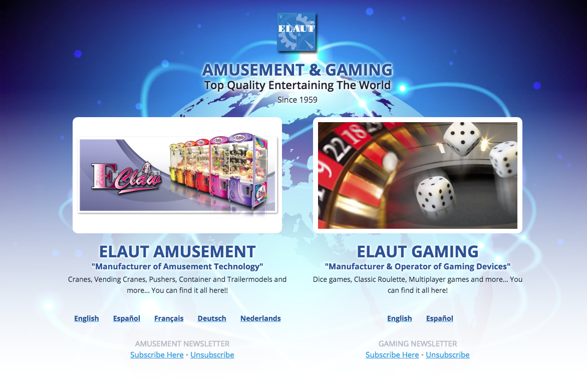 Elaut Amusement & Gaming