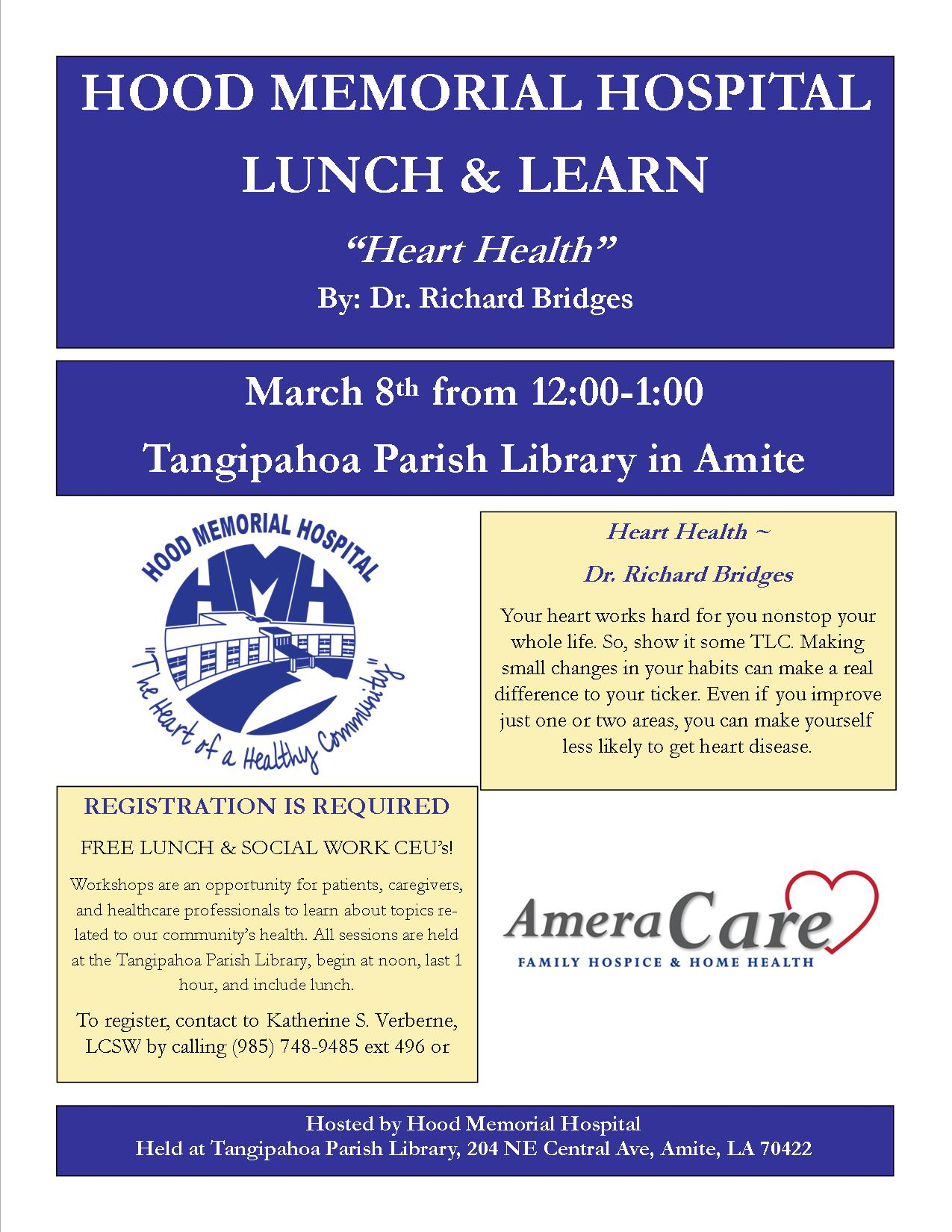 March Lunch & Learn