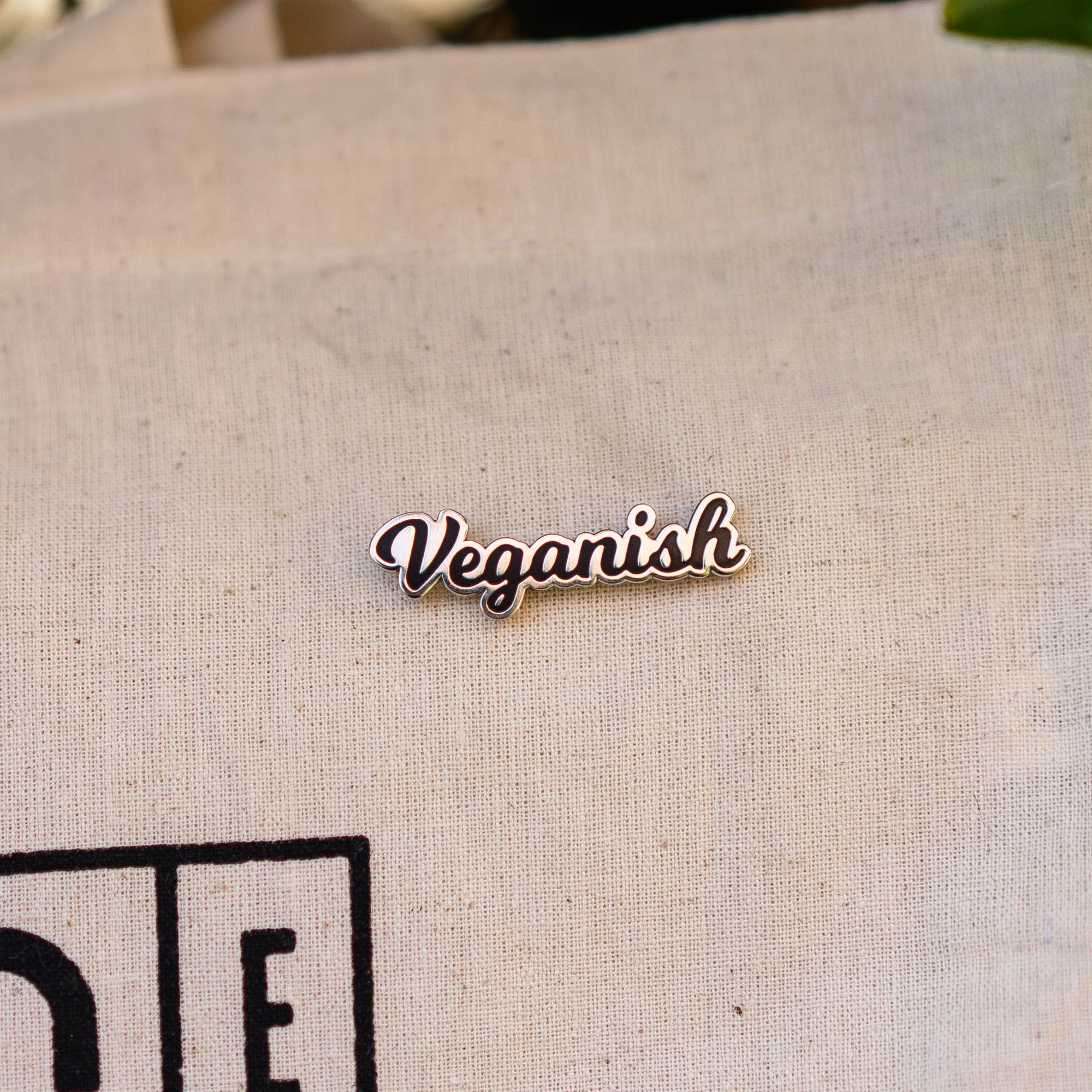 Veganish Pin