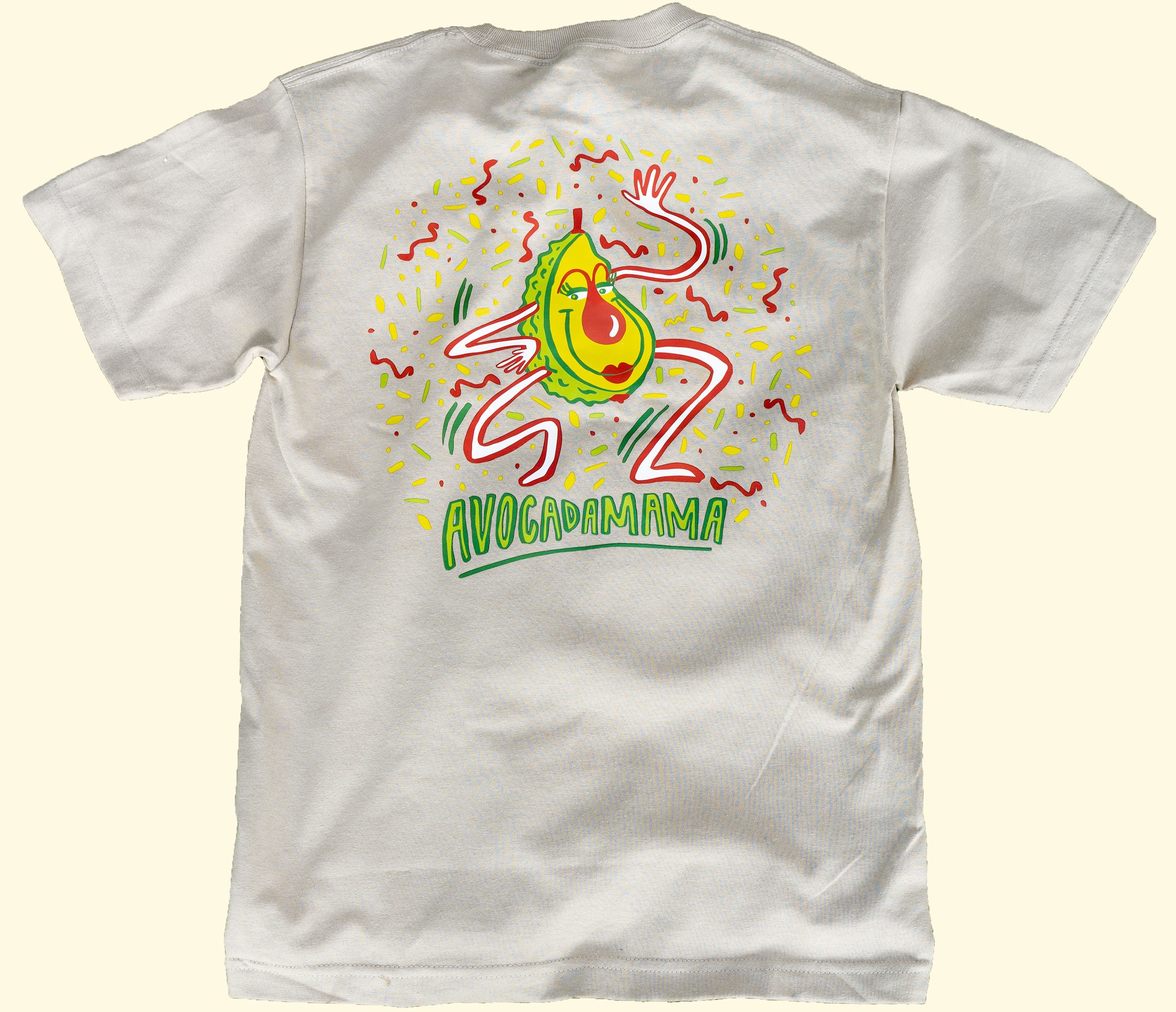 Avocadamama Shirt Back