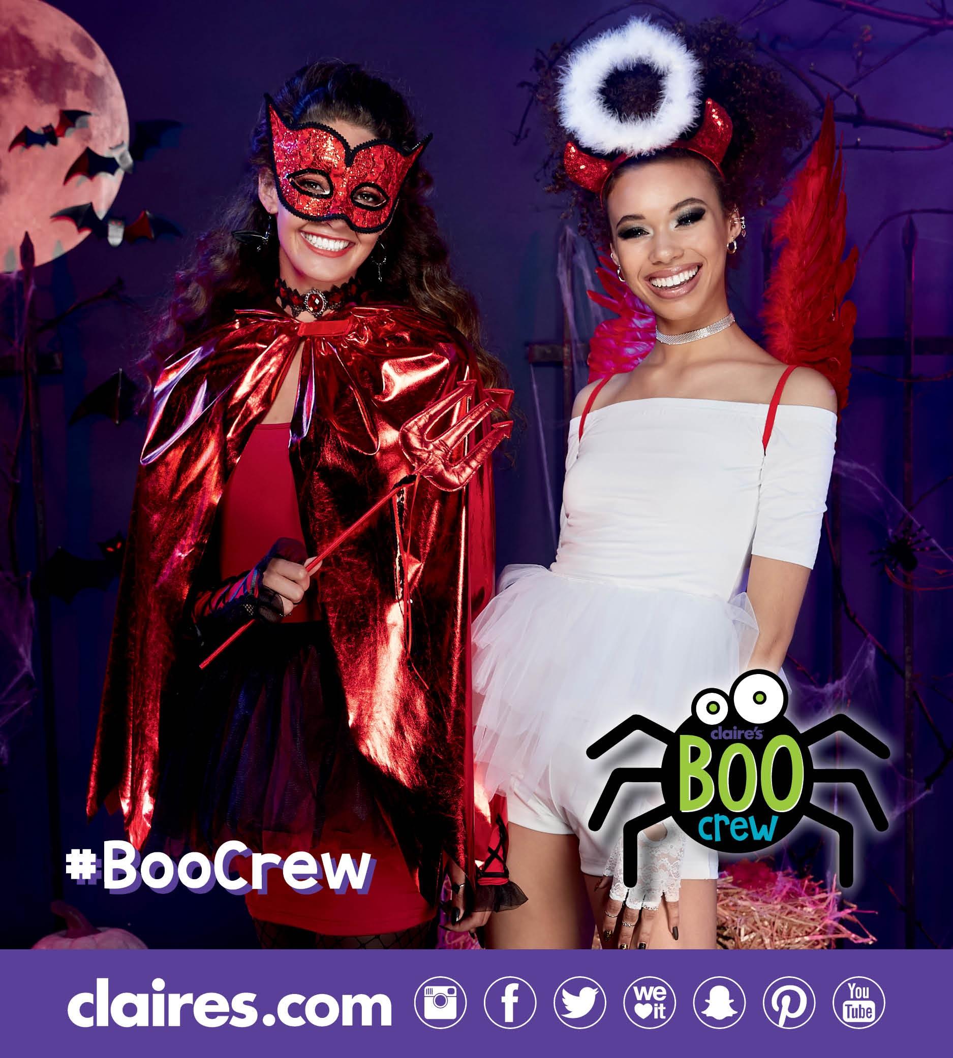 claire's halloween costumes