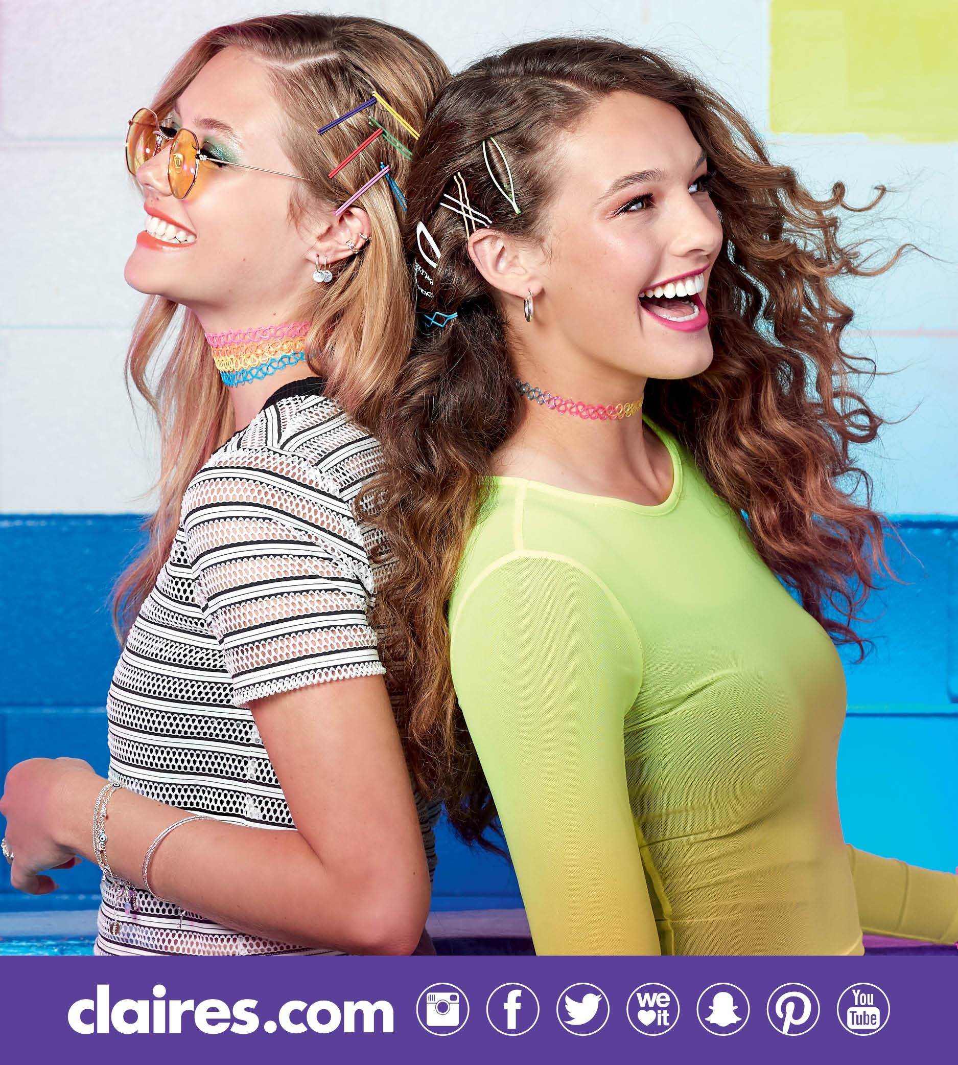 claire's haircare clearance