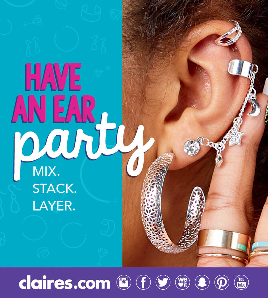 Have an ear party poster