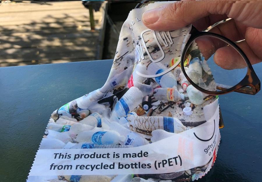 Puhdistusliinat kierrätysmuovista