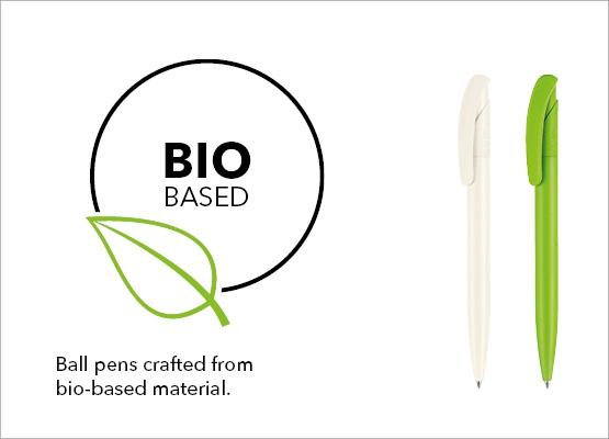 Biokuituiset kynät