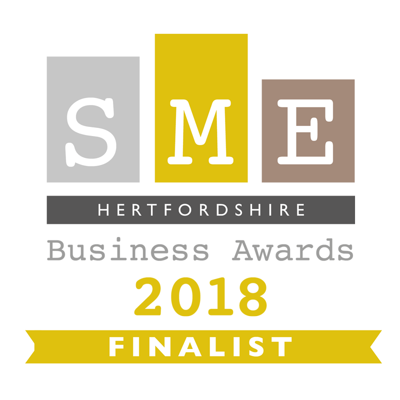 SME Hertfordshire Business Awards Finalist 2018 logo