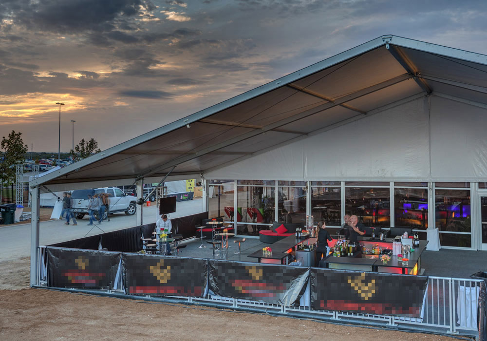 Tent Patio Sports Event