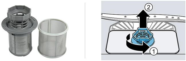 Illustration nettoyage filtre
