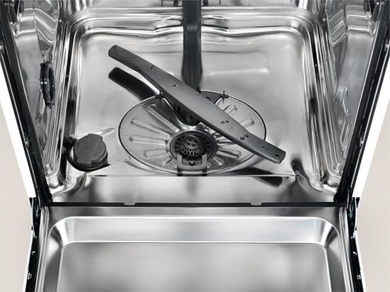 Photo interieur cuve lave vaisselle