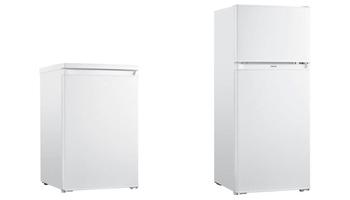 photo refrigerateur top et refrigerateur congelateur haut